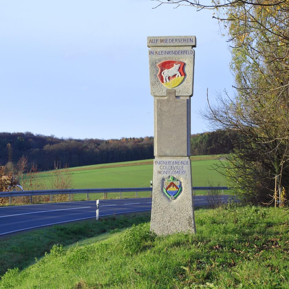 Kleinrinderfeld: Gemeinde Box Anfahrt & Ortsplan
