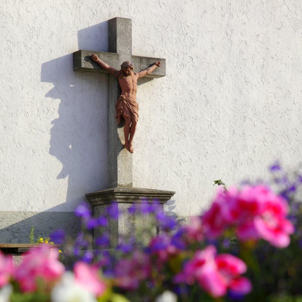 Kleinrinderfeld: Kirche Box Evangelische Kirche