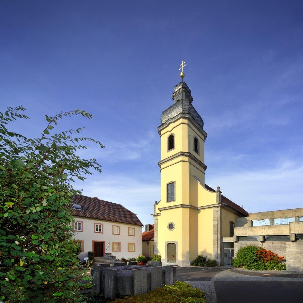 Kleinrinderfeld: Kirche Box Katholische Kirche