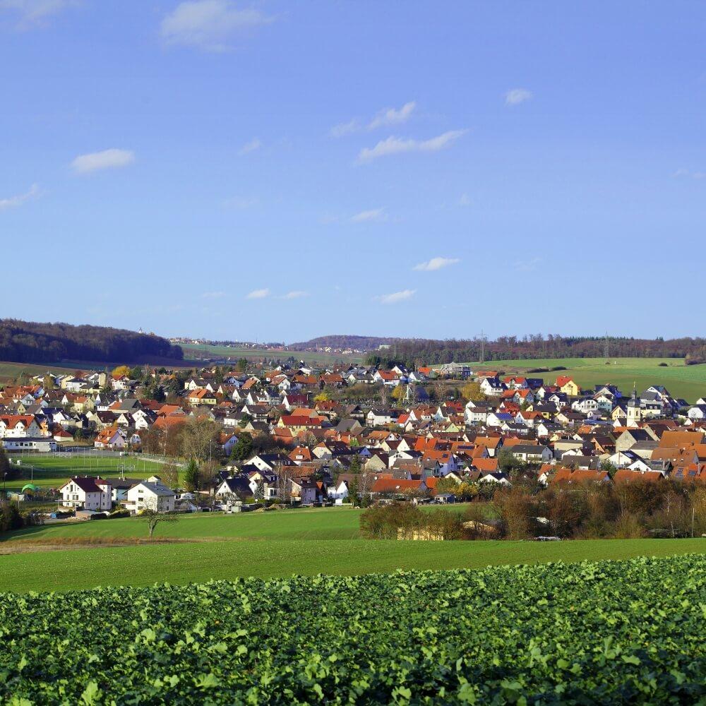 Kleinrinderfeld: Wohnen & Bauen Box Wohnumfeld